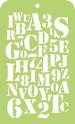 """Typography - Kaisercraft Mini Designer Templates 3.5""""X5.75"""""""