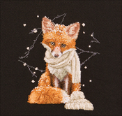 "Hey There Foxy Lady (16 Count) - Thea Gouverneur On Aida Counted Cross Stich Kit 12""X12"""