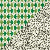 Shamrock Two Paper - Authentique