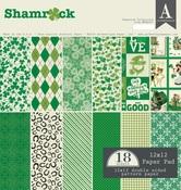 Shamrock 12 x 12 Paper Pad - Authentique