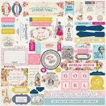 Dame Details Sticker Sheet - Authentique