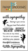 """Sympathy Sampler - Paper Smooches Clear Stamps 4""""X6"""""""