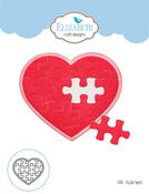 Puzzle Heart - Elizabeth Craft Metal Die