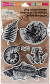 Fossils - Stampendous Andy Skinner Cling Stamps