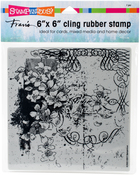Blossom Scroll - Stampendous Cling Stamps