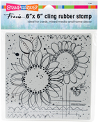 Sunny Sketch - Stampendous Cling Stamps