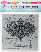 Ornate Scroll - Stampendous Cling Stamps