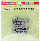 May Flowers - Stampendous Cling Stamp