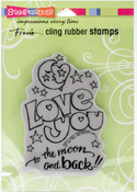Great Big Love - Stampendous Cling Stamp