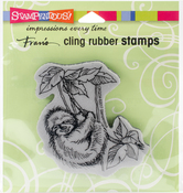 Sloth Swing - Stampendous Cling Stamp