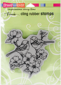 Dogwood Birds - Stampendous Cling Stamp
