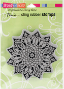Arabesque - Stampendous Cling Stamp