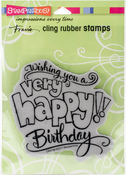 Great Big Happy - Stampendous Cling Stamp