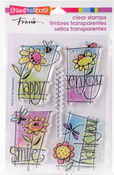 Window Messages - Stampendous Perfectly Clear Stamps