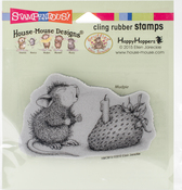 Strawberry Wish - Stampendous House Mouse Cling Stamp