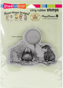 Birthday Mischief - Stampendous House Mouse Cling Stamp