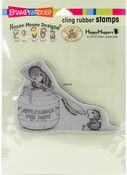 Feeding Baby - Stampendous House Mouse Cling Stamp