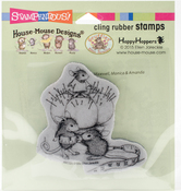 Tiny Tailor - Stampendous House Mouse Cling Stamp