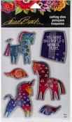 "Magical Horses - Stampendous Laurel Burch Die Set 9""X5.25"""
