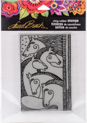 Horse Friends - Stampendous Laurel Burch Cling Stamp