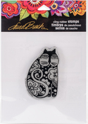 Flowering Feline - Stampendous Laurel Burch Cling Stamp