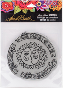 Sun Chase - Stampendous Laurel Burch Cling Stamp