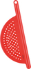 Red - Pot Drainer 12  Perfect for draining unwanted liquids from sauce pans and cook pots. This package contains one 12 inch long pot drainer. Dishwasher safe. Imported.
