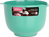 Mint - Melamine Mixing Bowl 1.5qt The perfect bowl for every recipe, easy to use. It has a no slip bottom and is easy to clean. Dishwasher safe. This package contains one 1.5qt melamine mixing bowl. Imported.