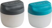 Blue & Black - Condiment Set Of 2 - 1.5oz Each