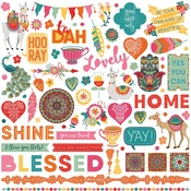 Paprika Element Stickers - Photoplay