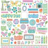 Happy Mad 4 Plaid Element Stickers - Photoplay