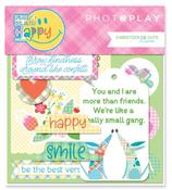 Happy Mad 4 Plaid Die Cut Pack - Photoplay
