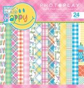 Happy Mad 4 Plaid 6 x 6 Paper Pad - Photoplay
