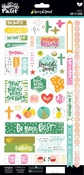 Say It Loud - Illustrated Faith Fruit Of The Spirit Cardstock Stickers