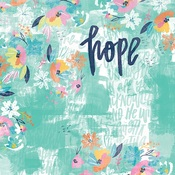 """Hope - Illustrated Faith All People All Nations Cardstock 12""""X12"""""""