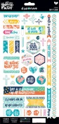 Say It Loud - Illustrated Faith All People All Nations Cardstock Stickers