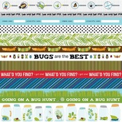 "Borders - Bug Explorer Double-Sided Cardstock 12""X12"""