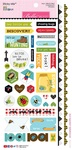 "Sticky Mix - Bug Explorer Cardstock Stickers 6""X12.5"""