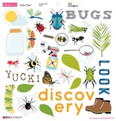 """Icons - Bug Explorer Chipboard Stickers 12""""X12"""""""