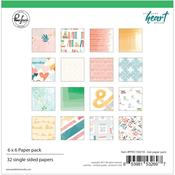 Let Your Heart Decide 6 X 6 Collection Pack - Pinkfresh