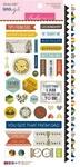 "Sticky Mix - Dad Style Cardstock Stickers 6""X12.5"""