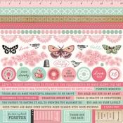 Miss Betty Cardstock Stickers - KaiserCraft