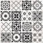 Mosaic Spot Varnish Paper - Beach Shack - KaiserCraft