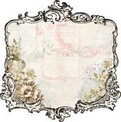 Garden Frame Die-cut Paper - Fairy Garden - KaiserCraft
