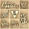 Be You Wood Flourishes - KaiserCraft