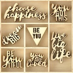Be You Wood Flourishes - KaiserCraft - PRE ORDER