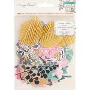 Gold Glitter Ephemera 60 pcs - Flourish - Maggie Holmes