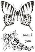 Pen & Ink Clear Stamps - KaiserCraft