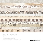 Pen & Ink 6 x 6 Paper Pad - KaiserCraft