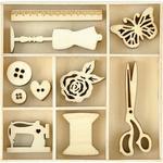Treasures Wood Flourishes - KaiserCraft